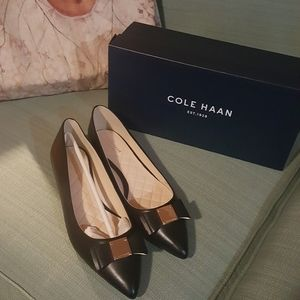 Cole Haan Shoes | Cole Haan Tali Bow Skimmer Flats